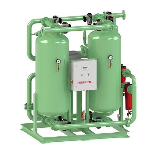 廃熱回生システム圧縮空気ドライヤー
